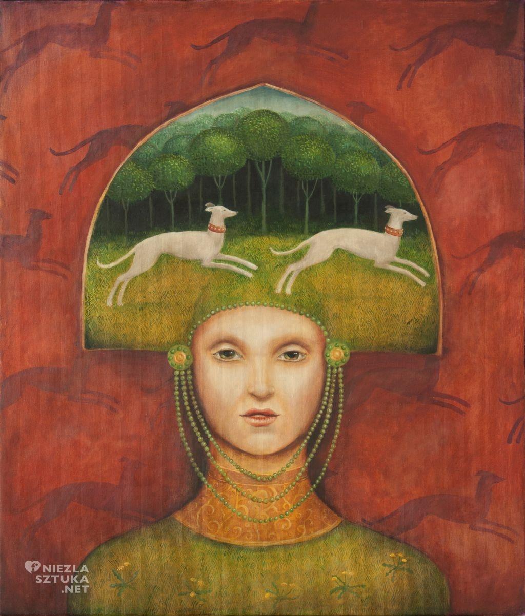 Malwina de Brade obrazy malarstwo