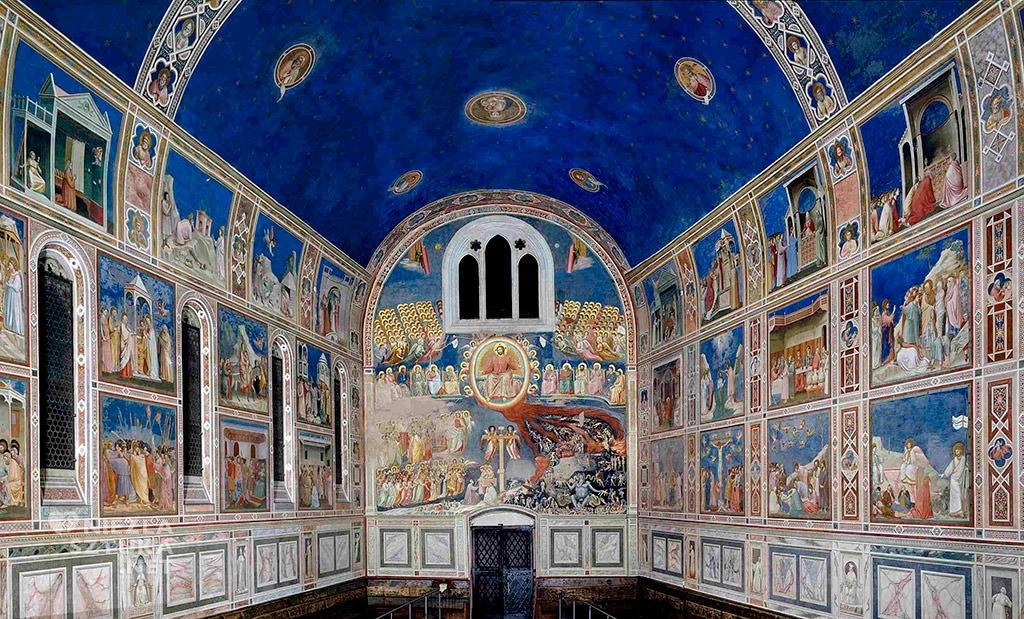 Giotto di Bondone, Kaplica Scrovegnich, Padwa Niezła sztuka