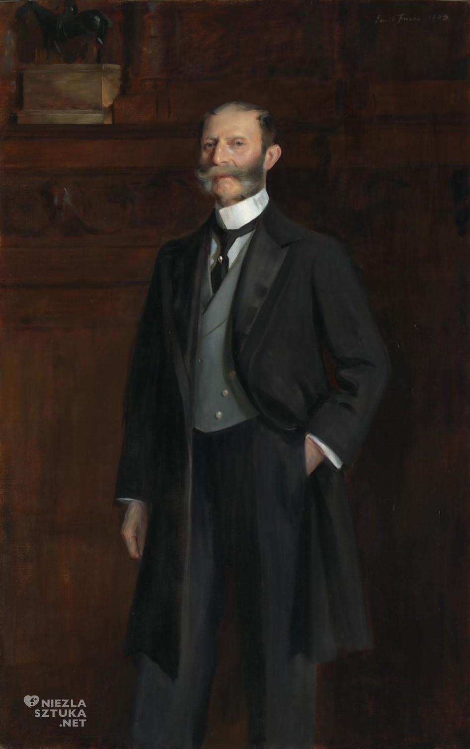 Emil Fuchs Portret Sir Josepha Duveena