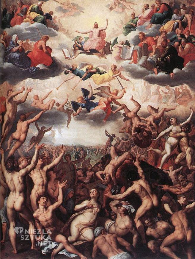 Jacob de Backer <em>Sąd ostateczny</em>, ok. 1580, O.-L. Vrouwekathedraal, Antwerp