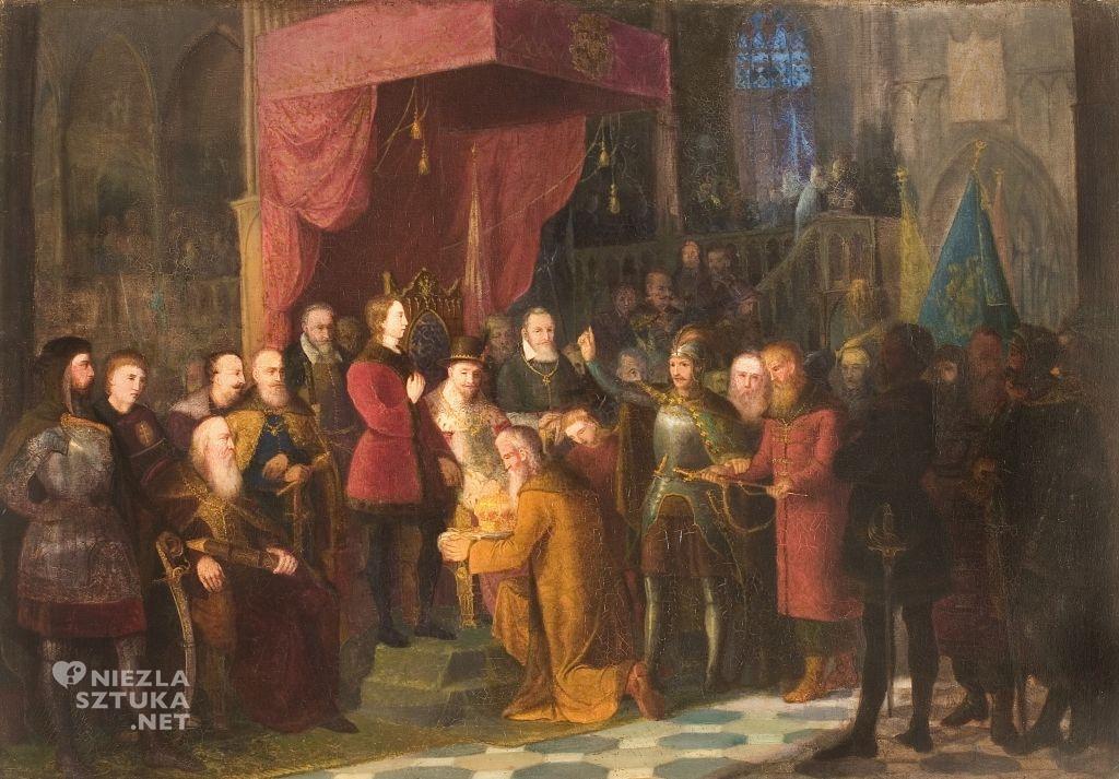 Jan Matejko Carowie Szujscy wprowadzeni na Sejm Warszawski 1853