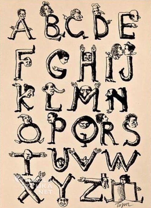 roland topor alfabet