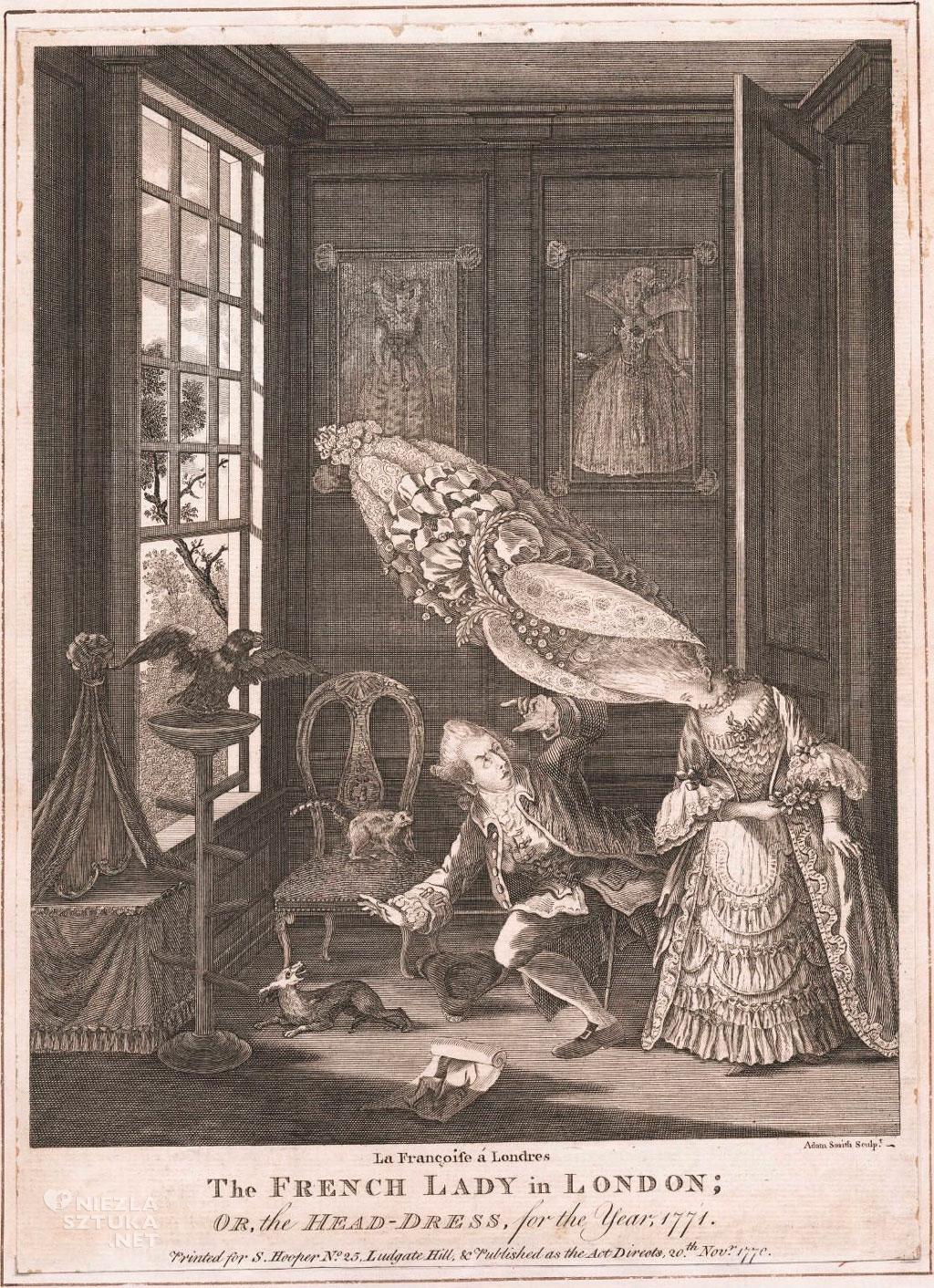 Adam Smith Francuska dama w Londynie