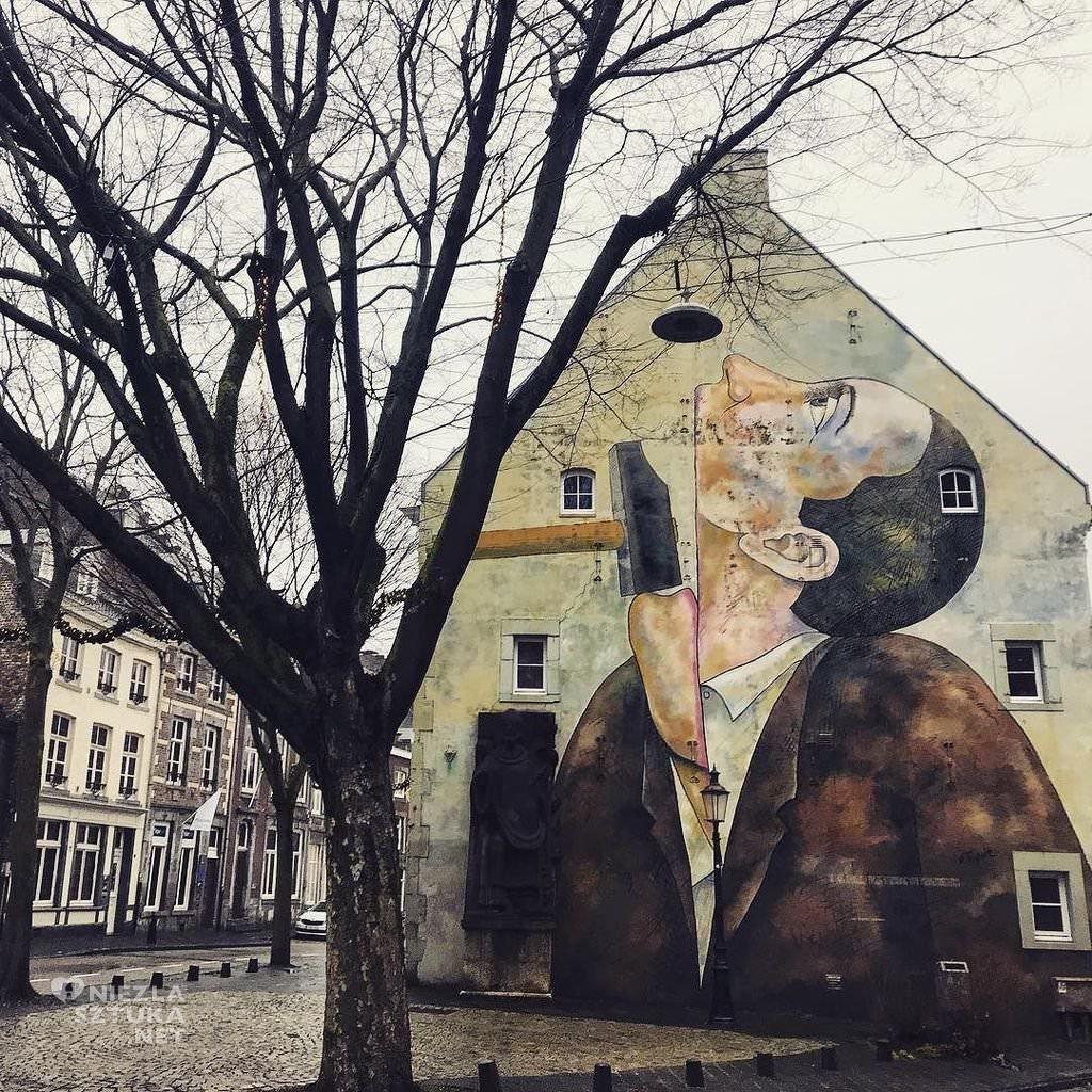 Roland Topor Maastricht Mural