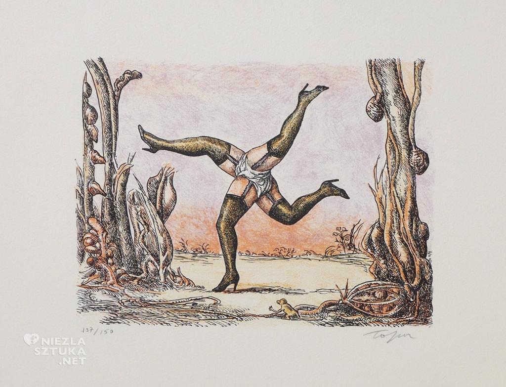 Roland Topor rysunek ilustracja