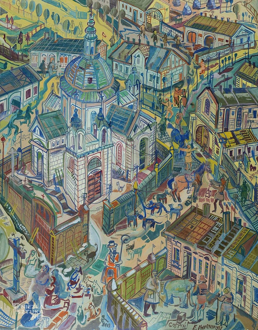 Edward Dwurnik Gostyń| 1988 Galeria Attis Niezła sztuka