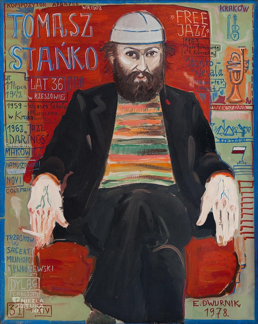 Edward Dwurnik obraz malarstwo sztuka polska Niezła Sztuka