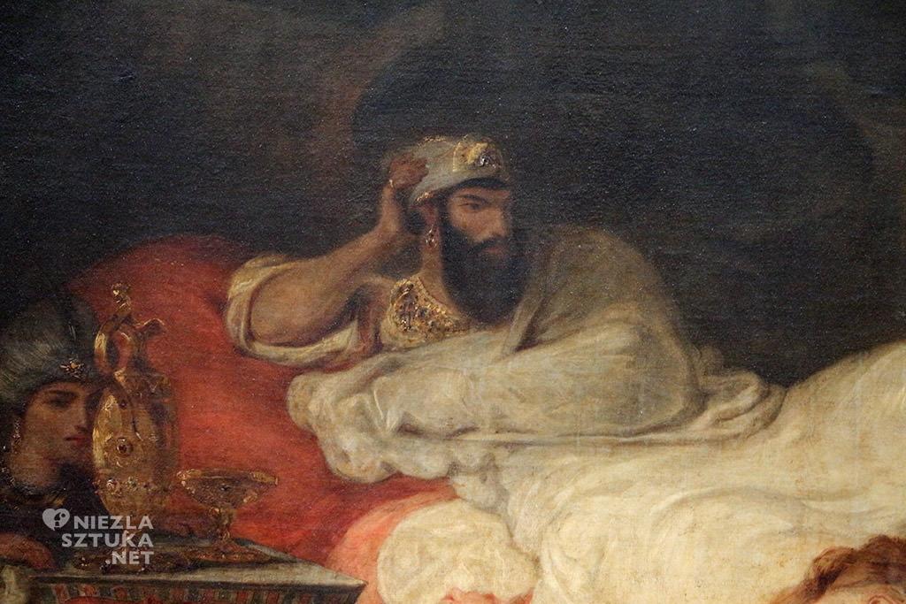 Eugène Delacroix Śmierć Sardanapala Luwr