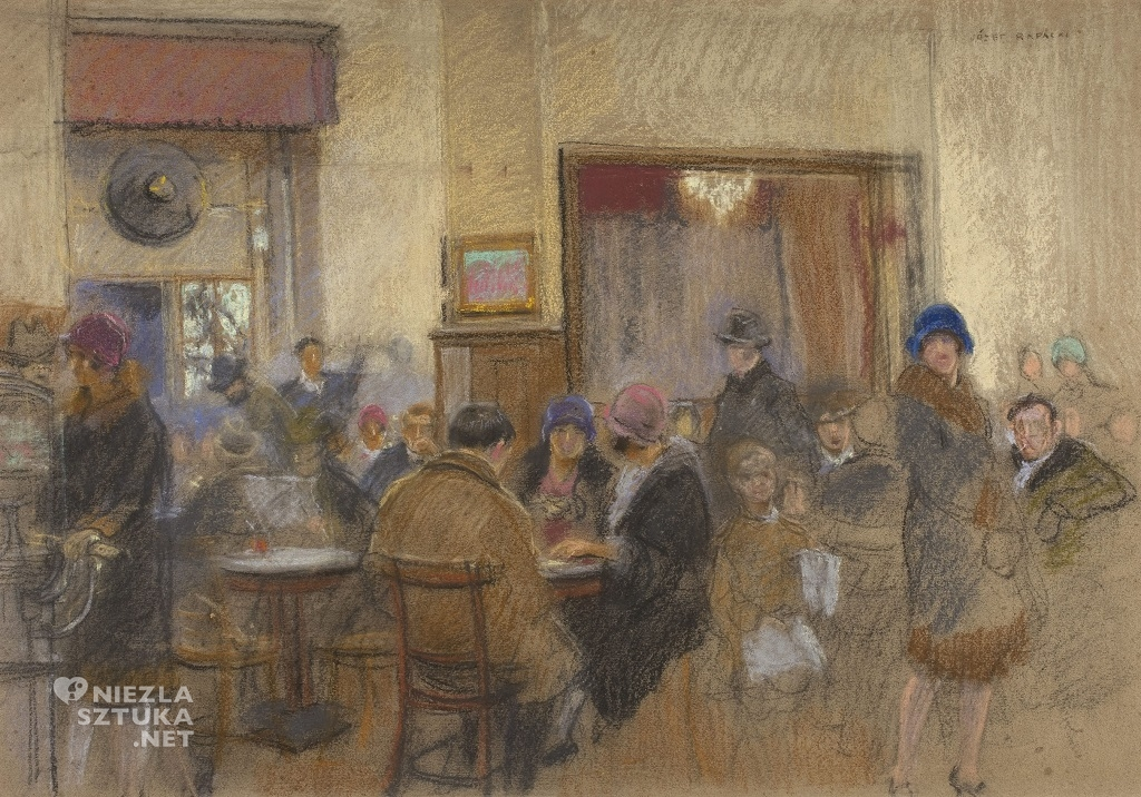 Józef Rapacki W kawiarni – Ziemiańska