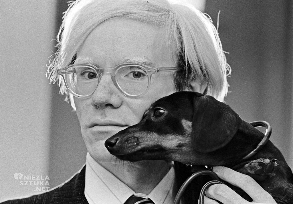 Andy Warhol z psem