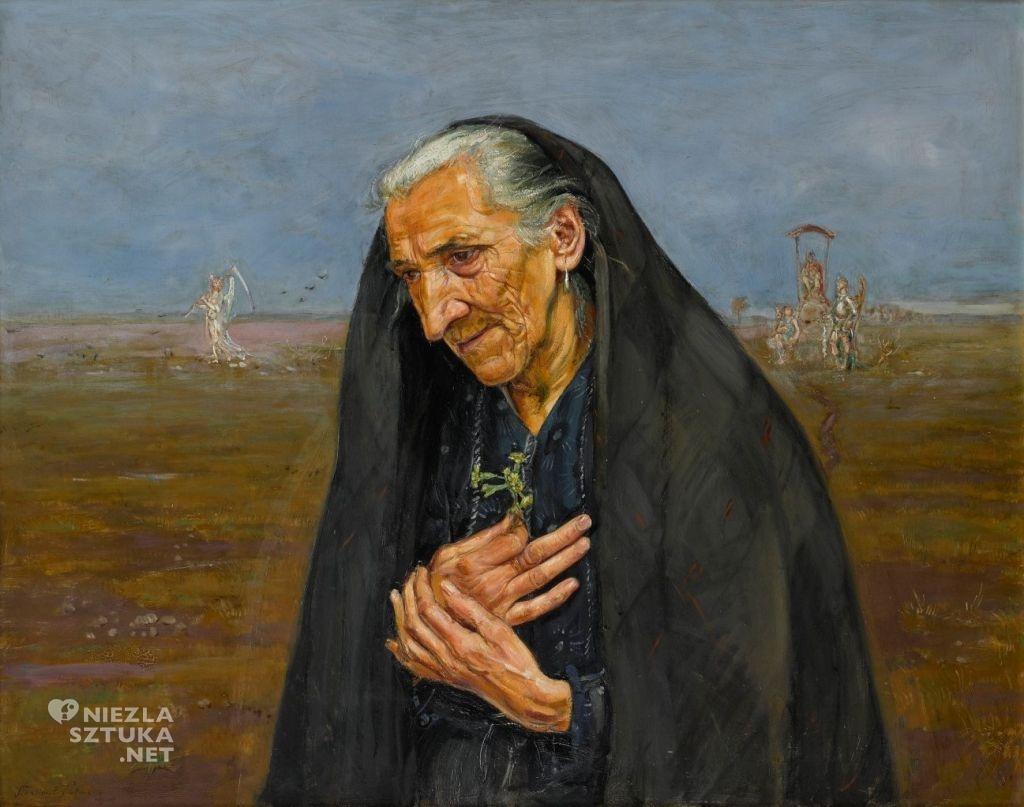 Wlastimil Hofman Portret starej kobiety