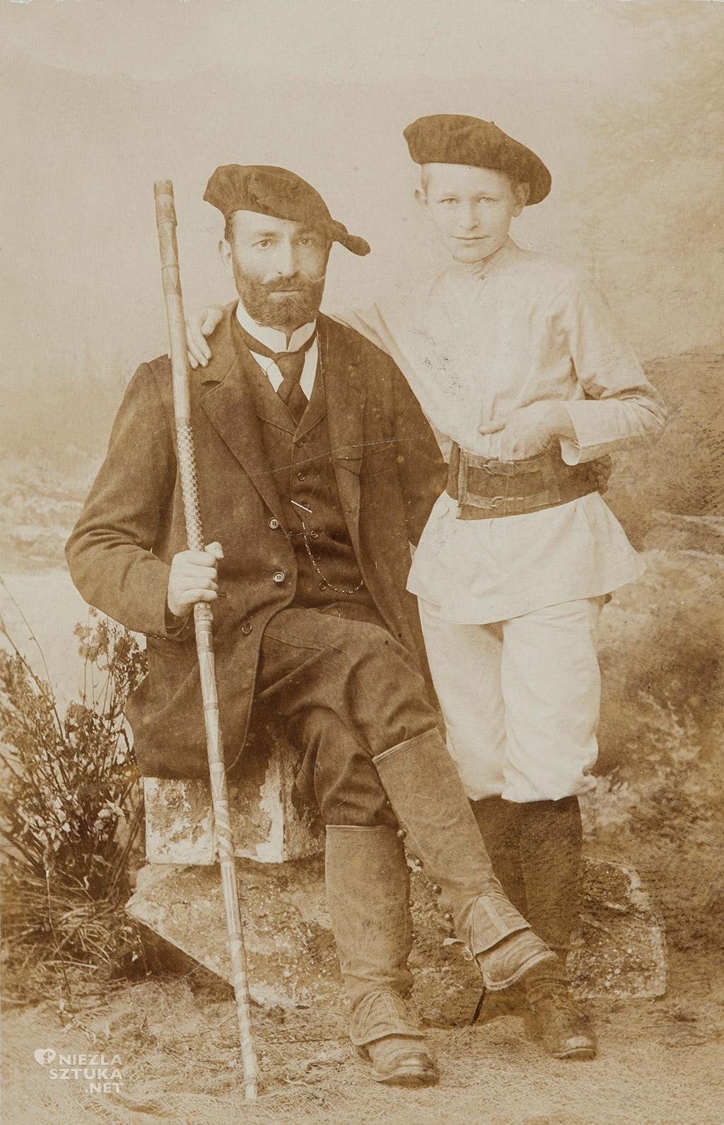 Feliks Jasieński z synem
