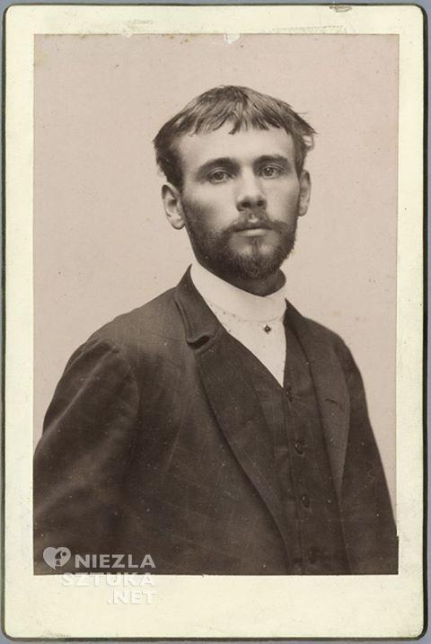 Młody Gustav Klimt Niezła sztuka