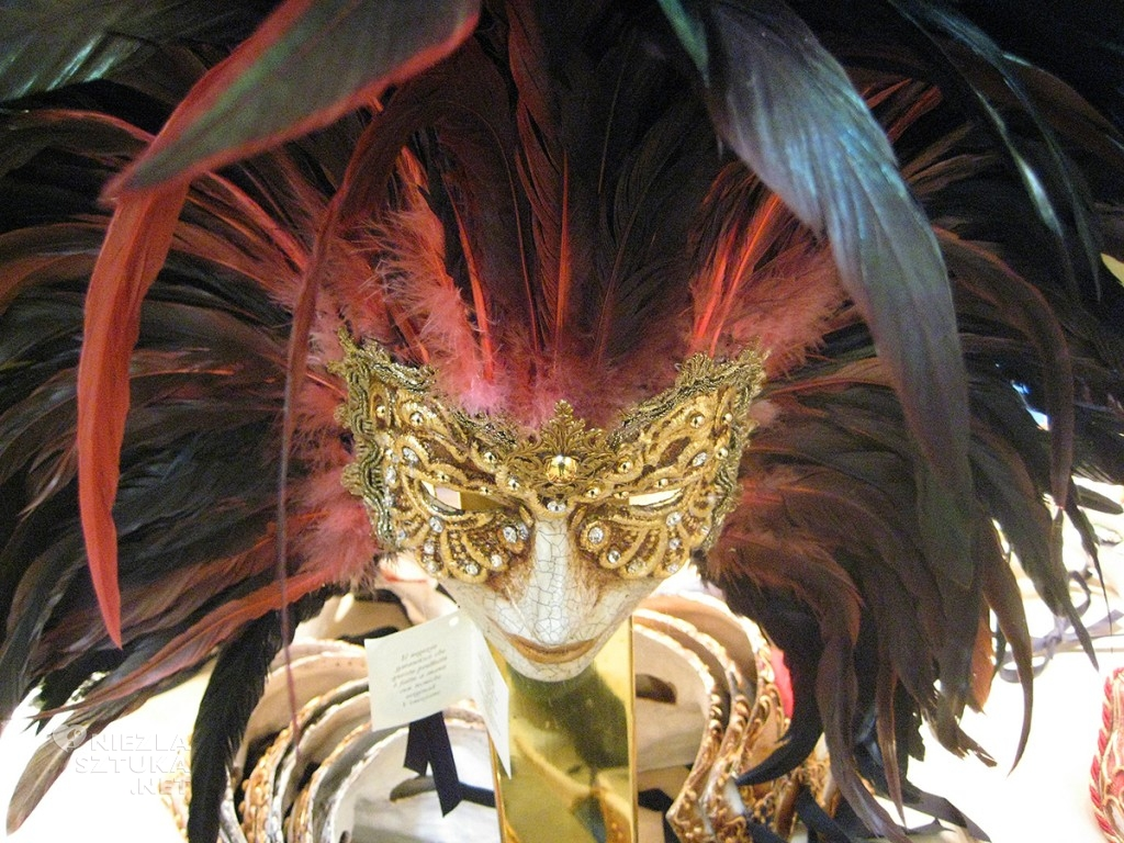 Wenecja, karnawał, Niezła sztuka, Maska wenecka
