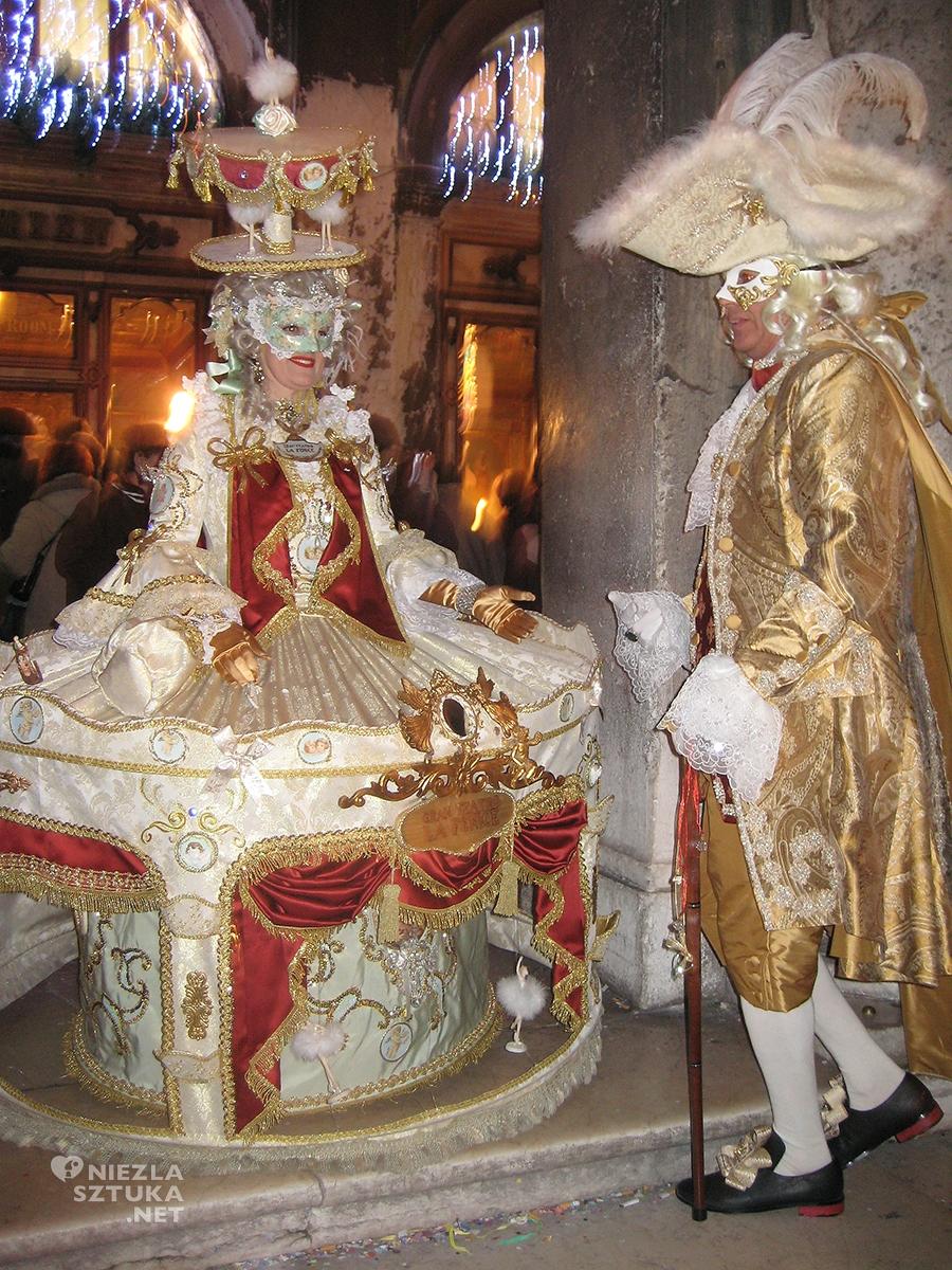 Wenecja, karnawał, Niezła sztuka