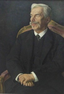 """Dmitry Melnikov """"Portret Shchukina"""" 1915"""