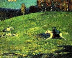 Wassily Kandinsky, Błękitny jeździec, sztuka współczesna, XX wiek, Niezła Sztuka