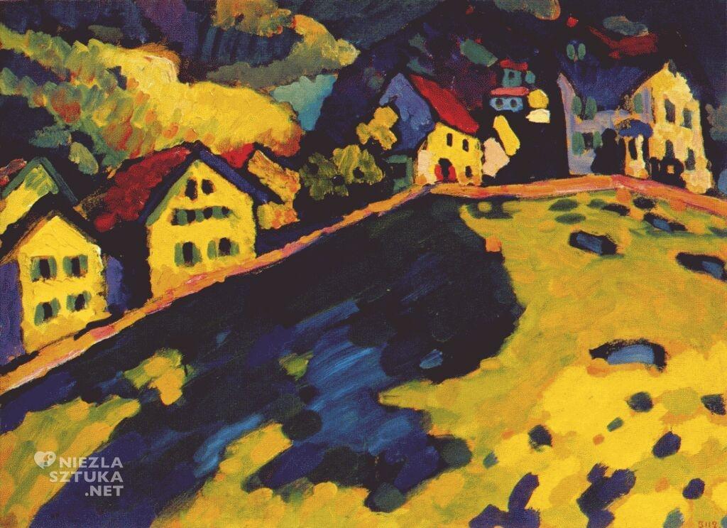 Dom w Murnau, 1909