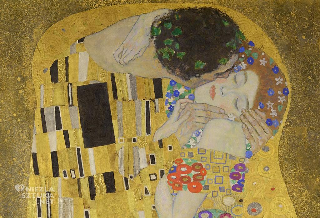 Gustav Klimt, Pocałunek, secesja wiedeńska, Niezła sztuka
