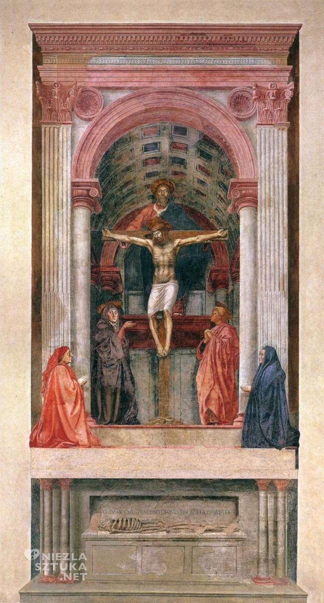 Masaccio Święta trójca