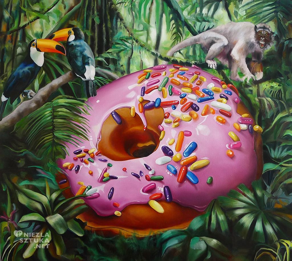 Justyna Kisielewicz paintings /  www.niezlasztuka.net