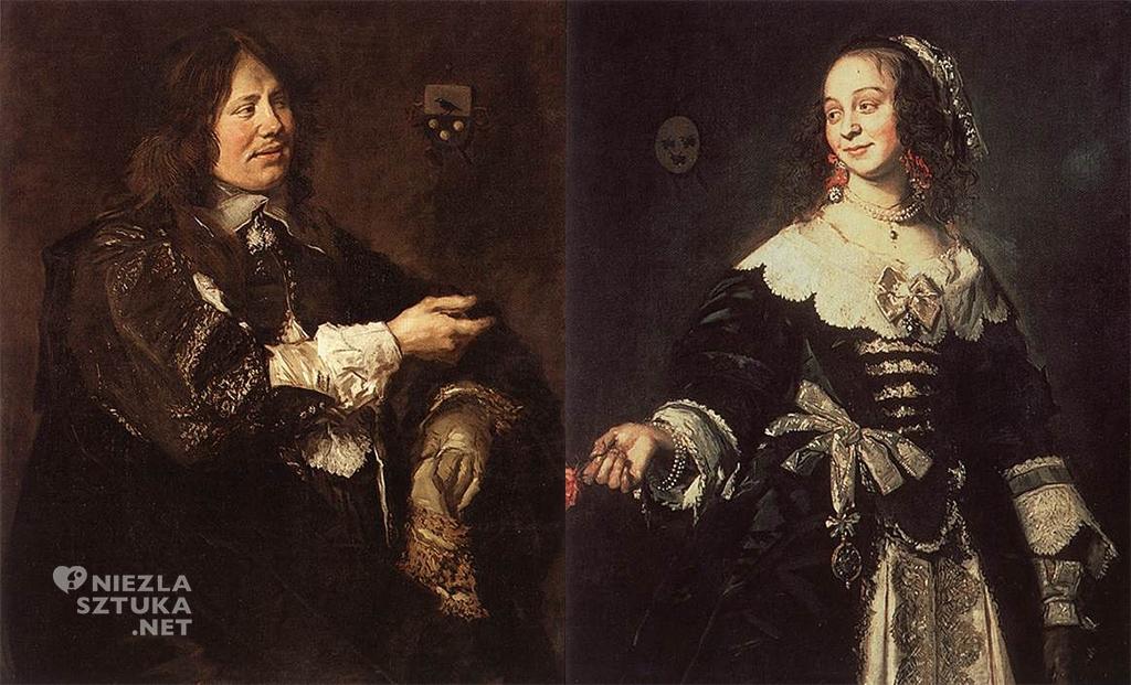 Frans Hals Stephanus Geraerdts i Isabella Coymans, Niezła sztuka