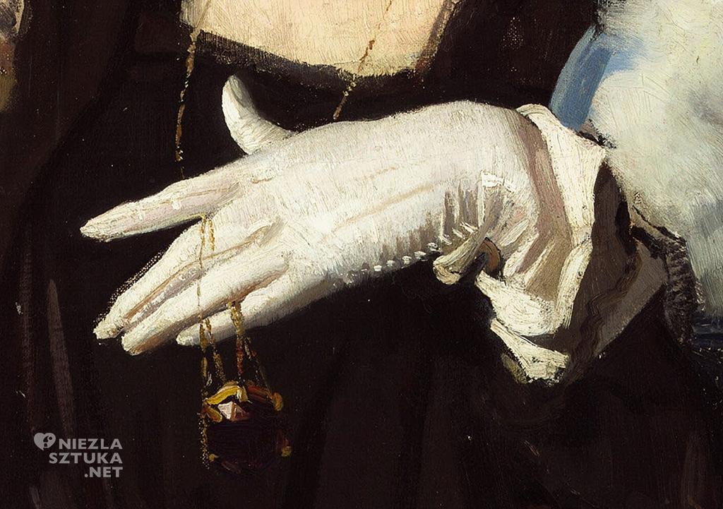 George W. Lambert, Biała rękawiczka, Niezła sztuka
