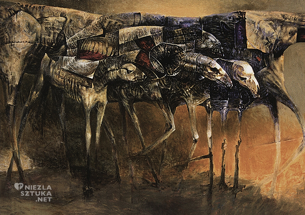 Krzysztof Krawiec paintings / niezlasztuka.net