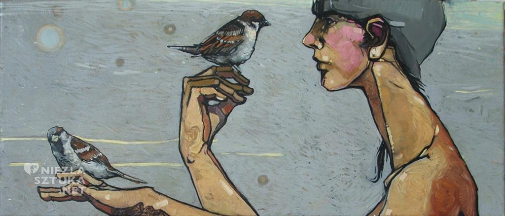Magdalena Polacik paintings / niezlasztuka.net