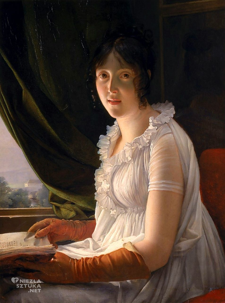 François Gérard, Pani Barbier-Walbonne, Niezła sztuka