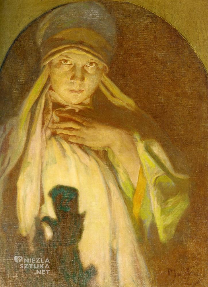 Alfons Mucha obraz sztuka secesja niezlasztuka.net