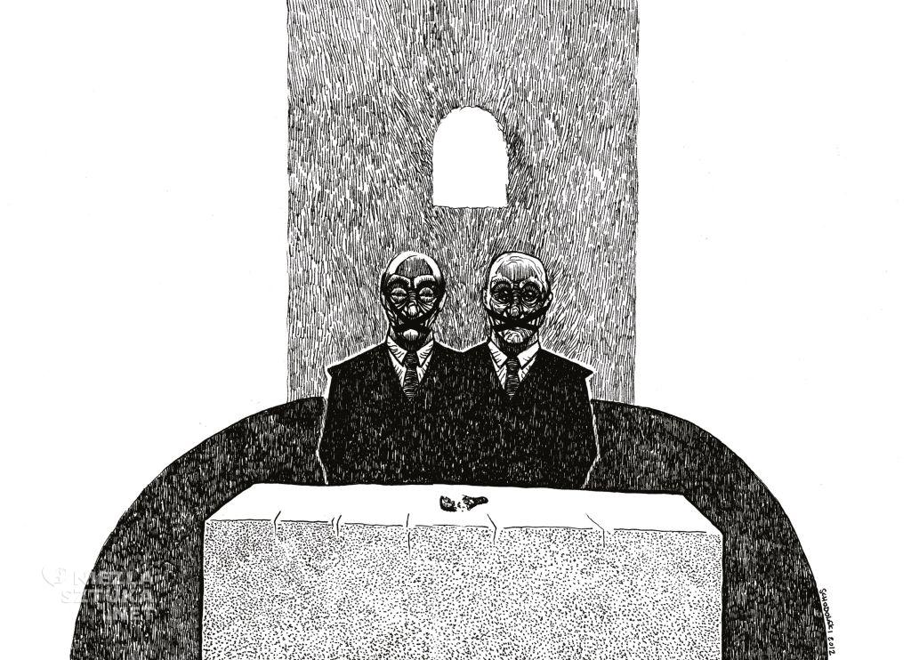 Krzysztof Schodowski milczenie o potędze fali na wodzie