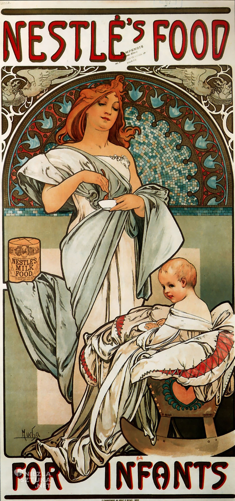 Plakat Nestlé | 1897
