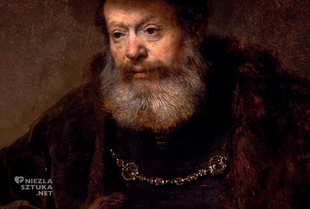 Rembrandt, Uczony przy pulpicie, malarstwo holenderskie, Niezła Sztuka