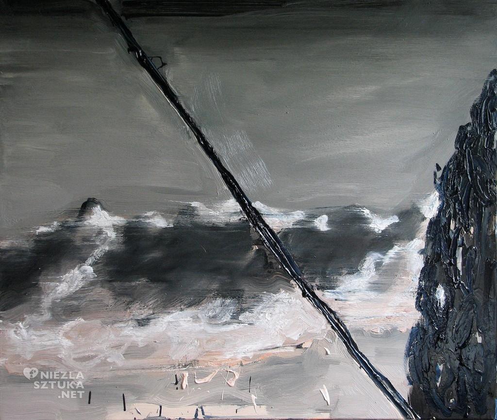 'Chmurka', 2014, 85x100 cm, olej na płótnie