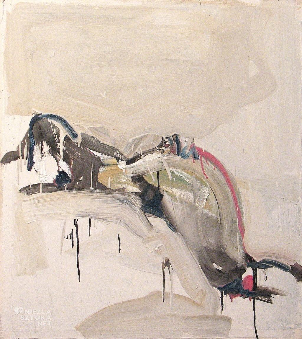 'I ruch okrągły, jak wyzywające zaproszenie', 2014, 75x68 cm, olej na płótnie