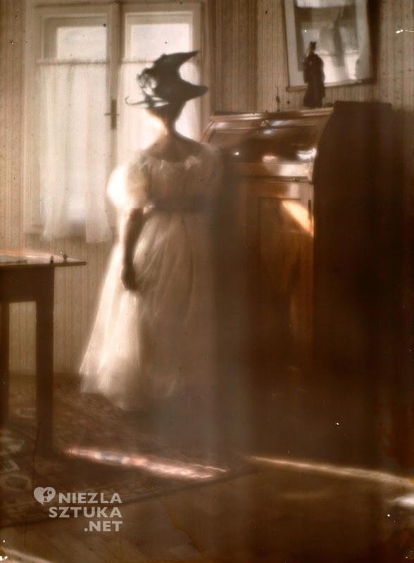 Mary Warner im Gegenlicht, 1908
