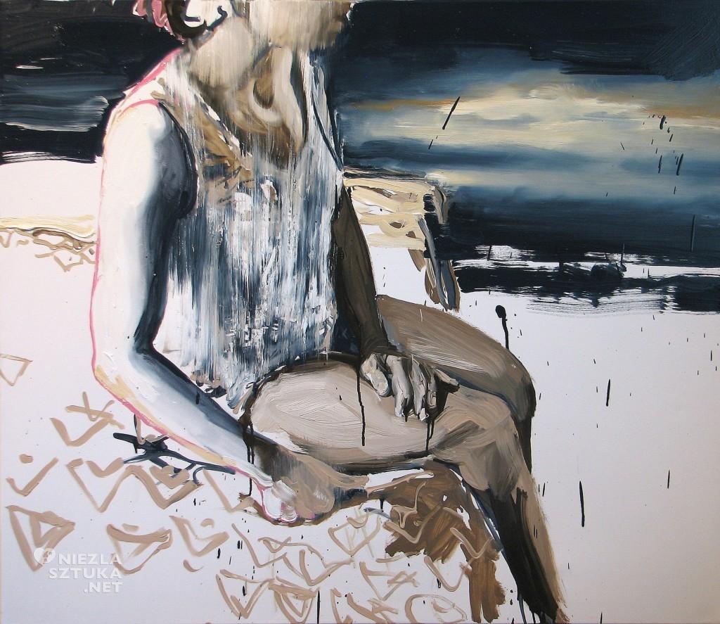 'Na skraju zmierzchu', 2014, 95x110 cm, olej na płótnie