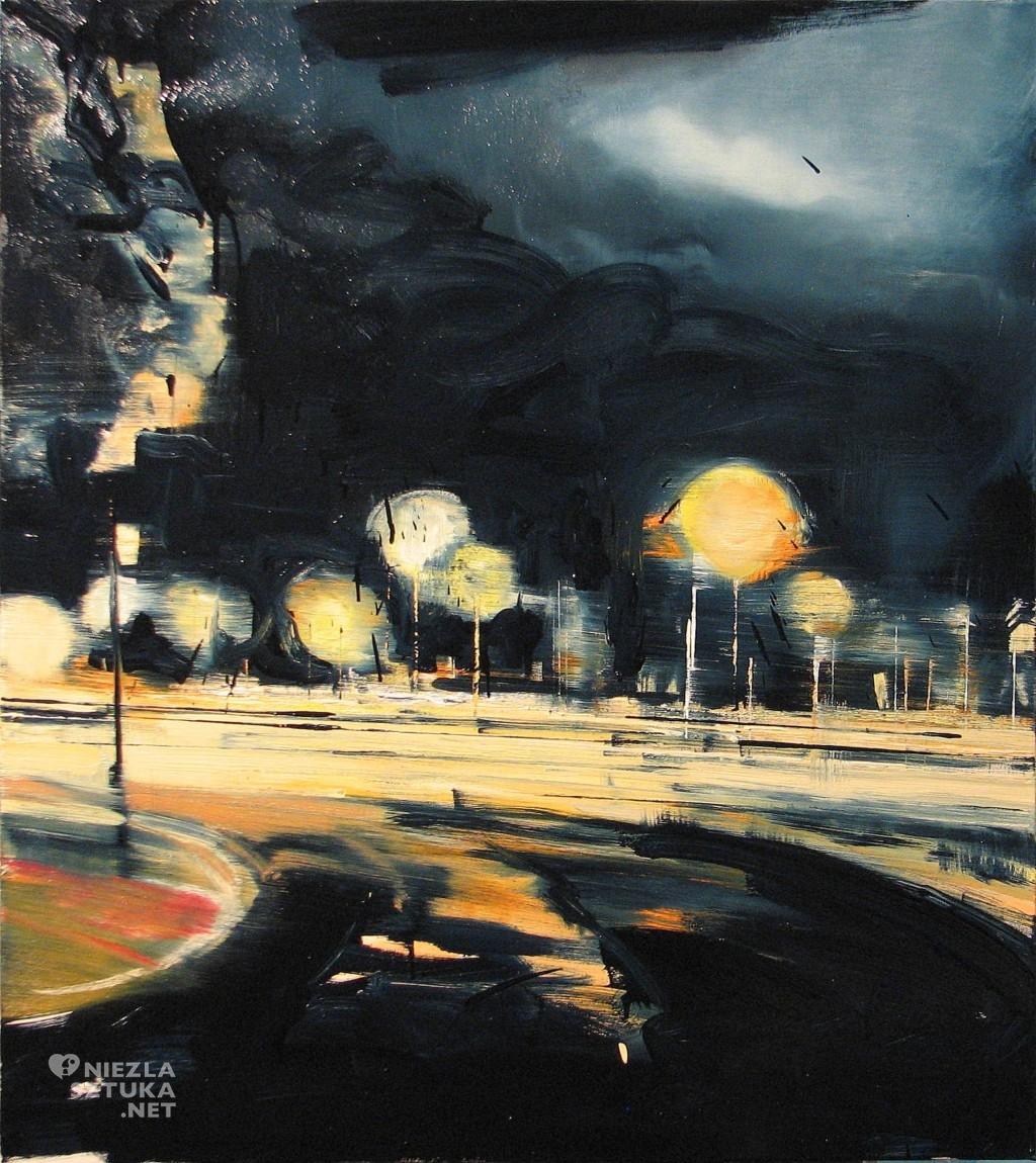 'Noce są krótkie, dni długie a życie spierdala', 2014, 95x85 cm, olej na płótnie