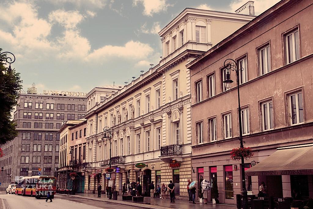 pałac Kossakowskich Warszawa, polska architektura, Niezła sztuka