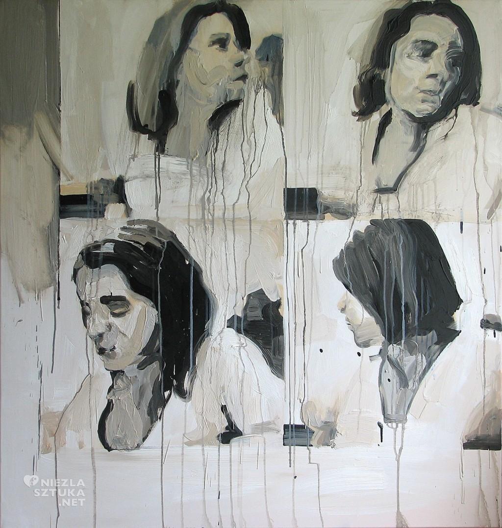 'Pogodynka', 2014, 105x100 cm, olej na płótnie