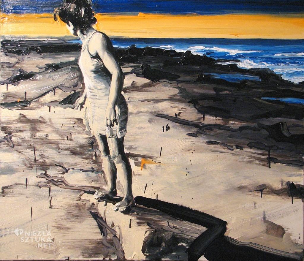 'Ponad horyzontem', 2014, 90x105 cm, olej na płótnie
