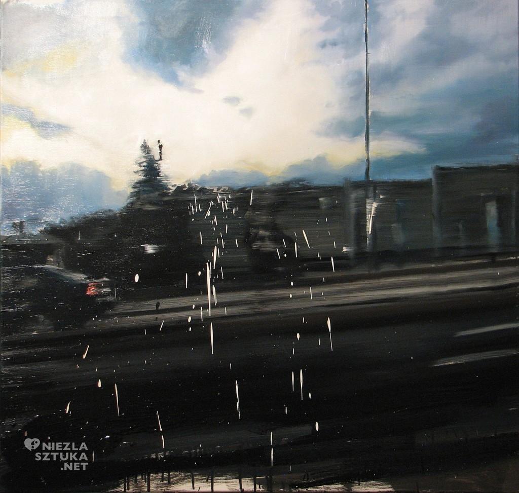 'Rzeczy trwałe, rzeczy zmienne', 2014, 100x105 cm, olej na płótnie