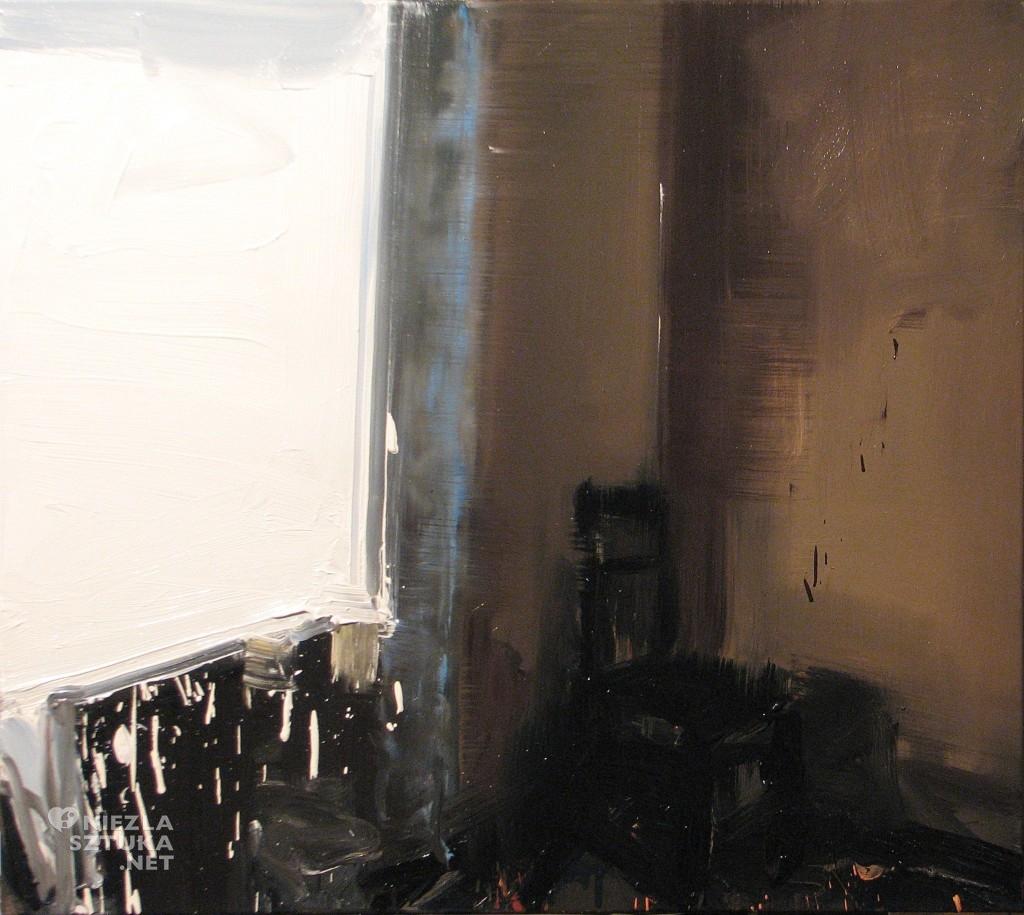 'Zimny pokój', 2014, 80x90 cm, olej na płótnie