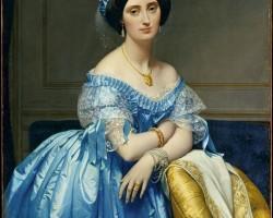 Jean Auguste Dominique Ingres, Portret Joséphine de Galard de Brassac de Béarn, księżniczka de Broglie, Niezła sztuka