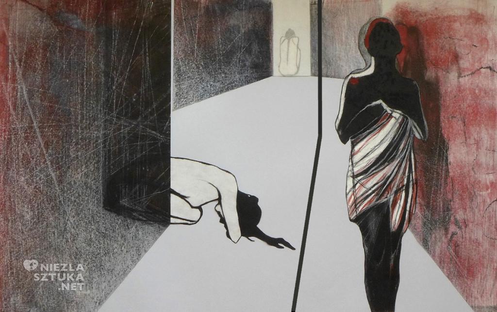 Joanna Konieczna-Zapart malarstwo rysunek grafika kobieta sztuka www.niezlasztuka.net