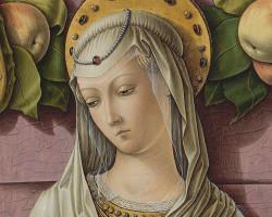 Carlo Crivelli, Madonna z Dzieciątkiem, malarstwo włoskie, sztuka włoska, Niezła sztuka