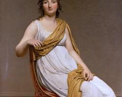 "Jacques-Louis David ""Portret pani Verninac"""