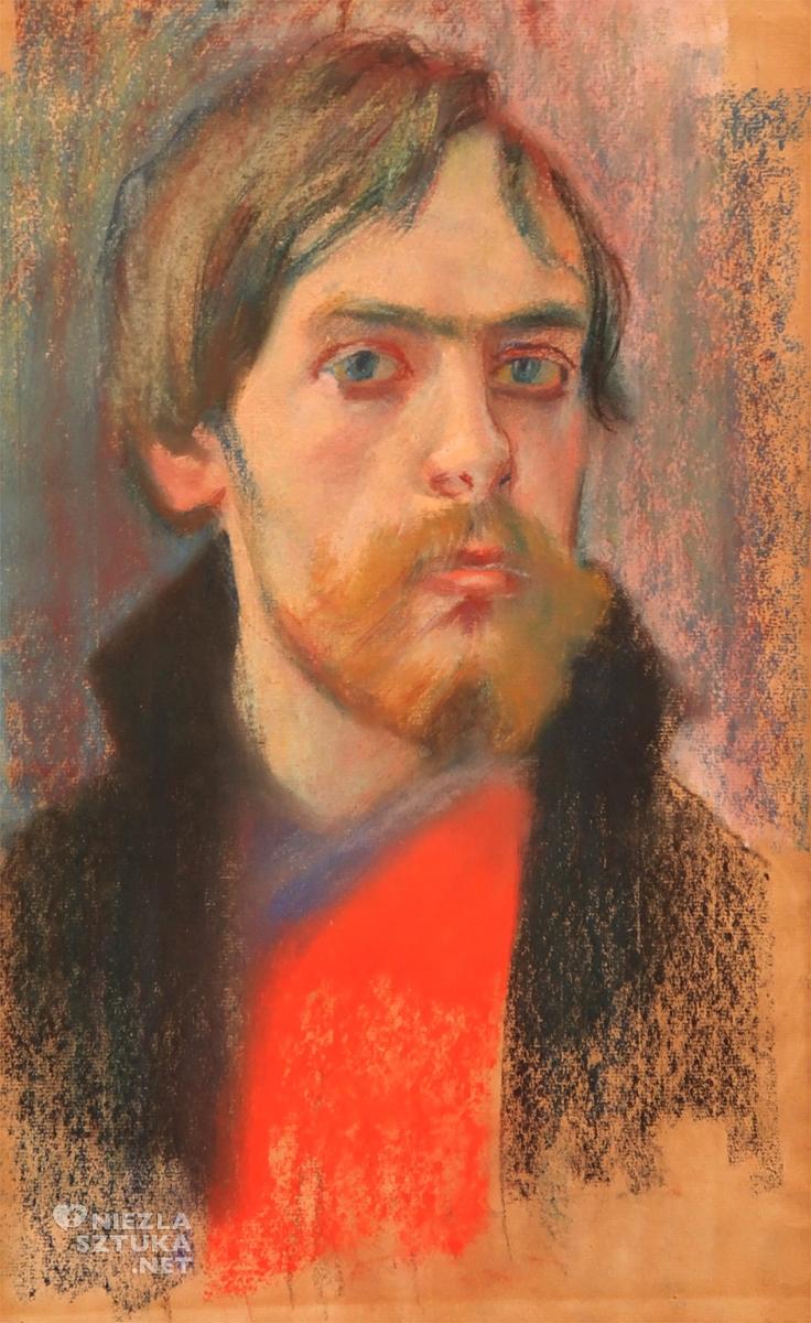 Stanisław Wyspiański, Autoportret, 1894, Muzeum Narodowe w Poznaniu