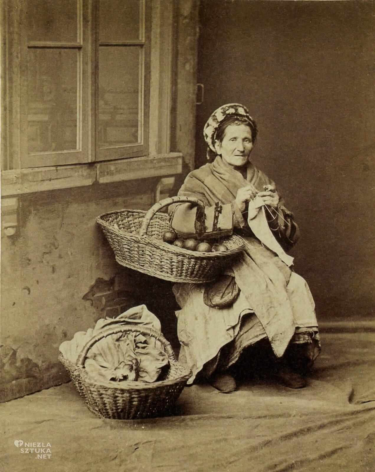 Konrad Brandel, Handlarka owoców, pomarańczarka, Pomarańczarka z obrazu, Aleksander Gierymski,Niezła sztuka